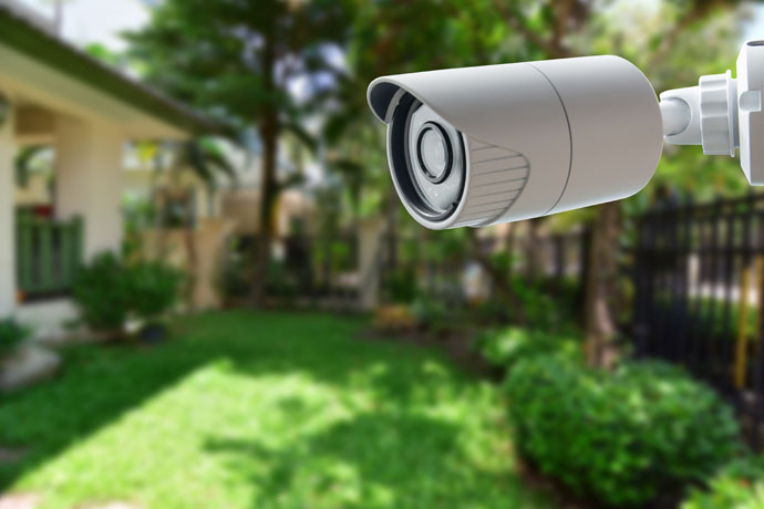 2. Awareness through security cameras