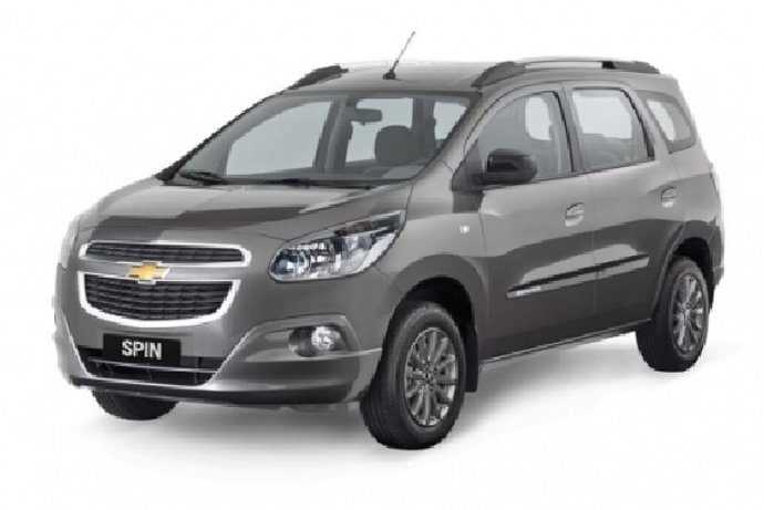 Chevrolet Spin has a refreshing appearance