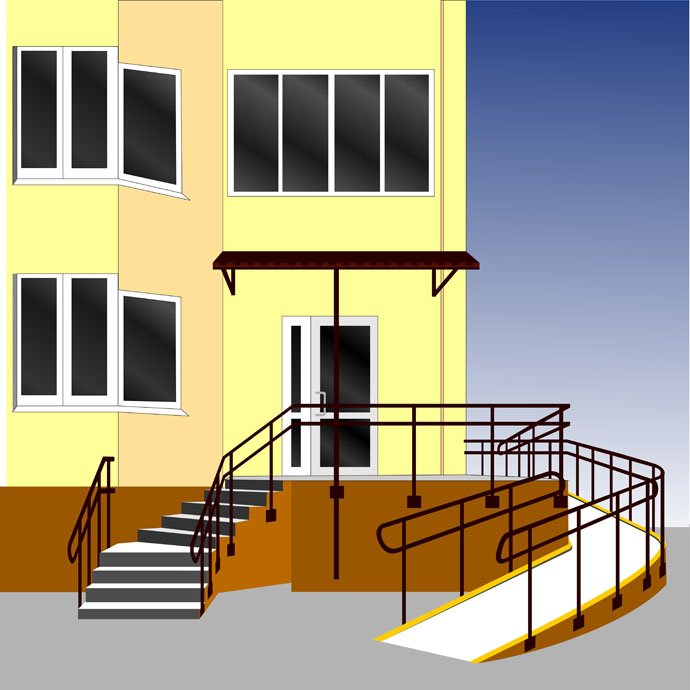 Installing ramps in homes enhances access