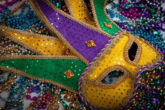 Masks worn during Karneval