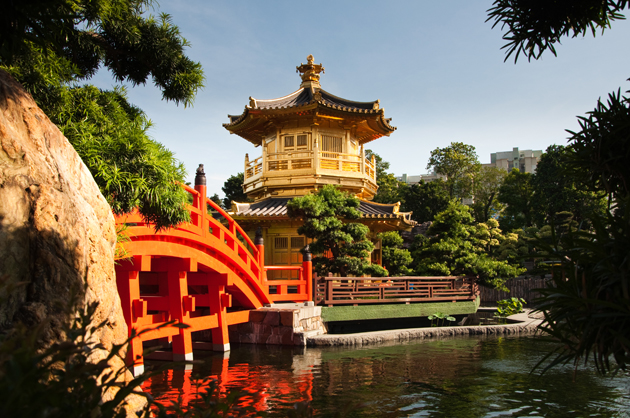 Nan Lian Garden, a Chinese classical garden in Kowloon region
