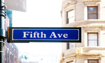 Shop on the Fifth Avenue