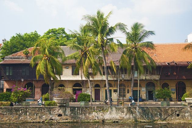 Fascinating 16th century buildings in Old Town, Jakarta
