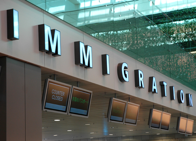 Immigration helps countries screen individuals