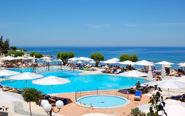 Luxury hotel on Crete