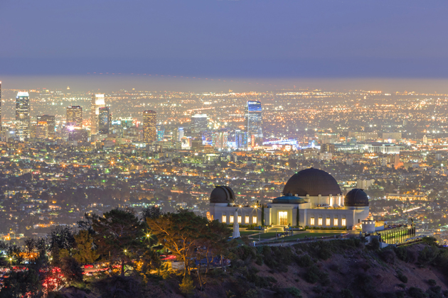 Update yourself with the latest astronomical discoveries at the Griffith Observatory