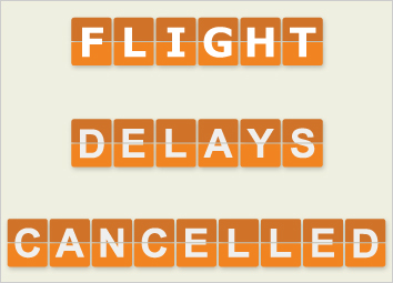 Cancelled flights can derail your plans