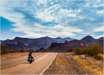 First-ever motorbike road trip