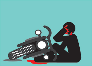 Two wheeler Accidents