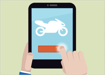 two wheelers take the online road