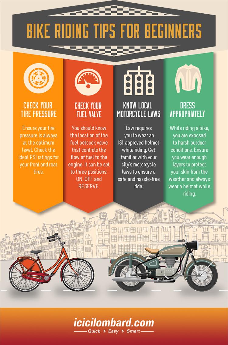 4 Bike Riding Tips For Beginners