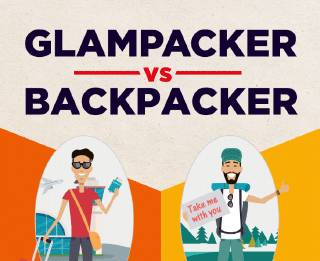 Glampacker Vs Backpacker