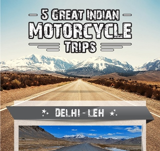 5 Great Indian Motorcycle Trip