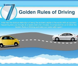 7 Golden Rules For Driving