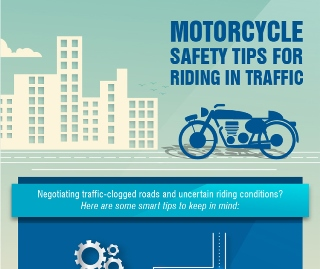 Motorcycle Safety Tips For Riding In Traffic