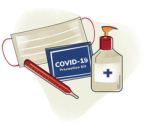 Covid 19 Precaution Kit