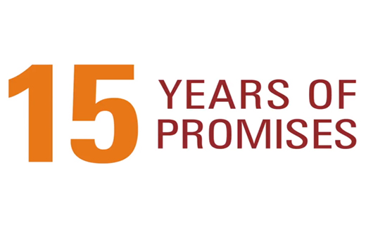 15 Years of Promises