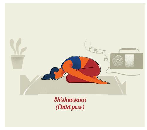 Shishuasana (Child pose)