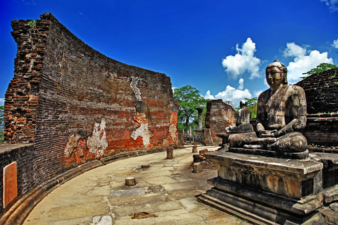 Polonnaruwa is the second most ancient kingdom on Sri Lanka