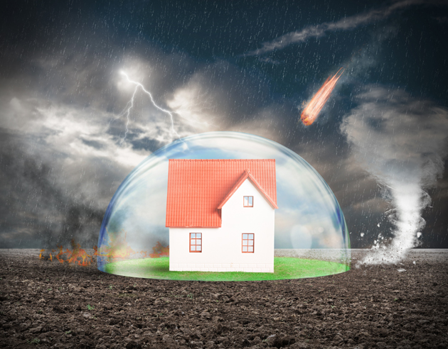Home insurance covers all natural disasters