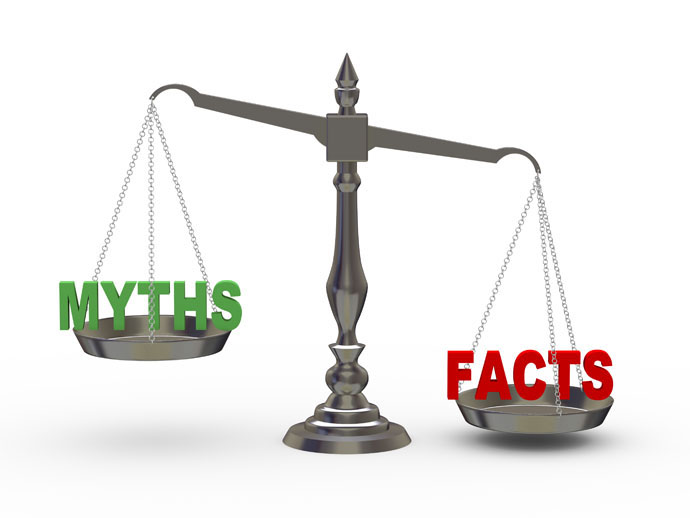 Weigh the facts before blindly following myths