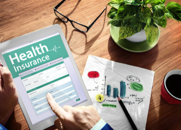 digital-health-insurance-application-concept