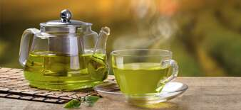 Sip a Cup of Green Tea