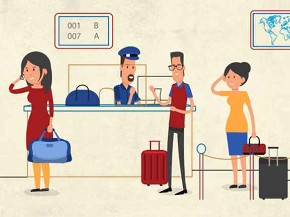 Loss of baggage and passport